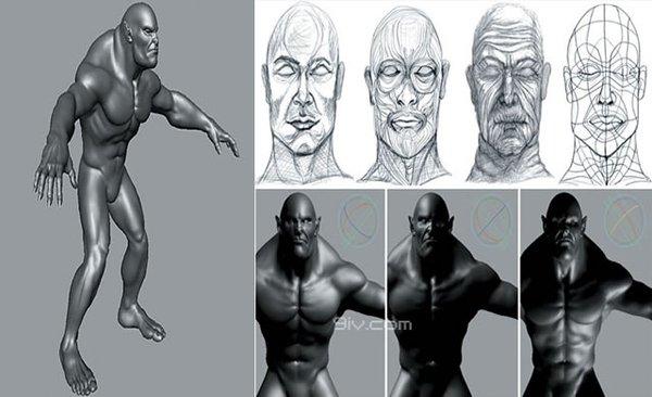3D美术资源/视频教程 [电驴下载]--Maya 超真实人物角色教程  3