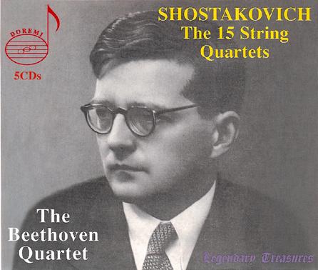 Beethoven Quartet 贝多芬四重奏团 演释肖斯塔科维奇弦乐...