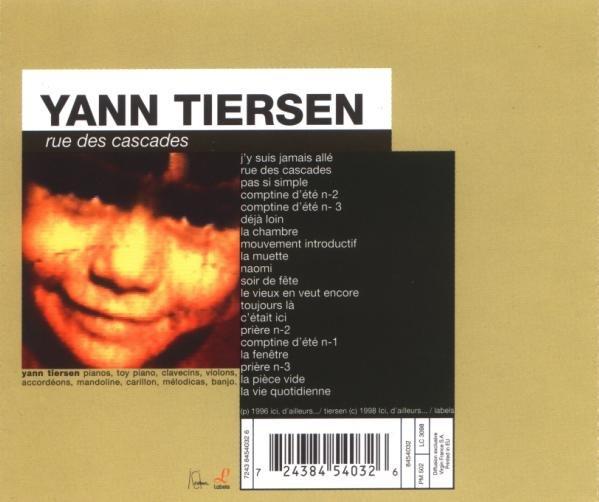Yann tiersen rue des cascades contain sheet music for Yann tiersen la fenetre