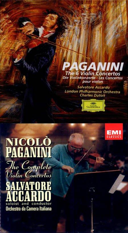 小提琴演奏家无一不以演奏录制帕格尼尼6首小提琴协奏曲为至高的荣耀
